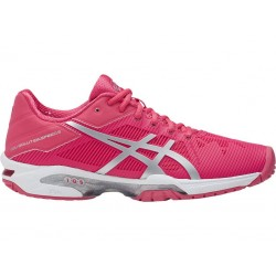 Asics Gel Solution Speed 3 (Rouge Red/Silver/White)