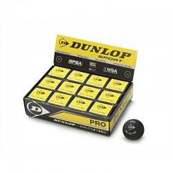 Pelota Dunlop (Dos puntos amarillos) 12 Pack