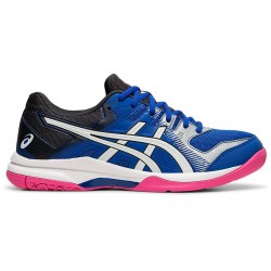 Asics Gel rocket 9 (Women) Blue/White