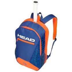 Core Backpack (Blue/Orange)