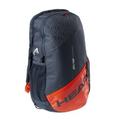Elite Backpack (Grey/Orange)