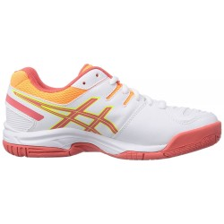 ASICS Gel Game 5 Blanco/Salmon/Naranja
