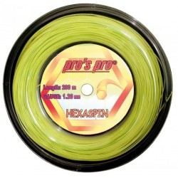 Rollo de cuerda Pros' Pro Hexaspin (Lime)