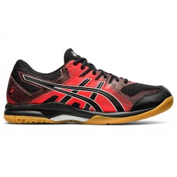 Gel Rocket 9 (Black/Fiery Red)