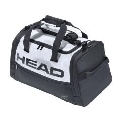 Djokovic Duffle Bag (White/Black)