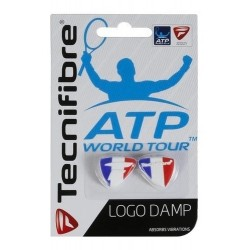 Tecnifibre Antivibrador Logo Damp ATP (Rojo)