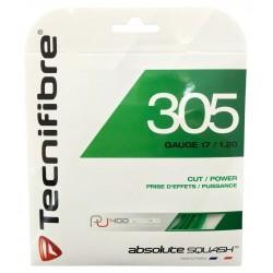 Set de cuerda/ squash TECNIFIBRE 305, Gauge 17/1.20