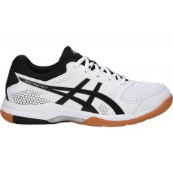 Asics Gel Rocket 8 (White/Black/ Silver)