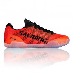 Salming Hawk Shoe Men Black/Lava Red
