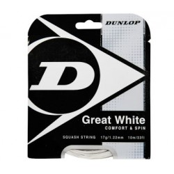 Set de cuerda DUNLOP Great White 17g