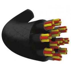 Set de cuerda de squash TECNIFIBRE 305 Cal 17 (granel) (negra)