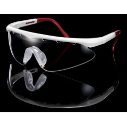 Lentes Turbo C2C Black Knight (Blanco/Rojo)